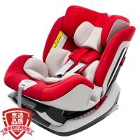 宝贝第一Babyfirst 宝宝汽车儿童安全座椅 isofix接口 太空城堡(经典红)适合0-25KG(0-6岁)