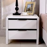 沃盛 FH-WS-1055现代简约黑白色床头柜1个550*420*500
