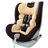 首席官(CHIEF OFFICER)狮子王 汽车儿童安全座椅0-12岁360度旋转正反向支持isofix+latch双接口 夏日摩卡