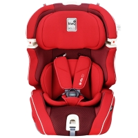 kiwy原装进口宝宝汽车儿童安全座椅isofix硬接口 9个月-12岁 无敌浩克荣耀版 至尊红