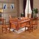 中伟实木茶桌椅组合功夫茶桌中式茶几桌实木茶台1800*900*780