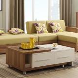 A家家具  茶几 现代简约小户型可伸缩板木实木客厅储物茶几 A142