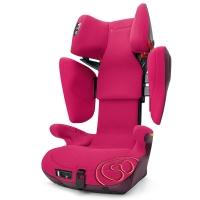 谐和(CONCORD)安全座椅3-12岁儿童汽车ISOFIX接口 XBAG康科德玫瑰粉