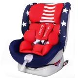 首席官(CHIEF OFFICER)狮子王 汽车儿童安全座椅0-12岁360度旋转正反向支持isofix+latch双接口 美国队长
