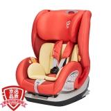 宝贝第一Babyfirst汽车儿童安全座椅9月-12岁 铠甲舰队尊享版ISOFIX3C认证 熔岩红