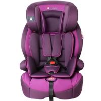 Zazababy儿童安全座椅9月-12岁isofix、latch双接口 2180Pro紫色
