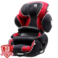 Kiddy/奇蒂 宝宝汽车儿童安全座椅 isofix 9个月-12岁 守护者2代fix 伦巴红