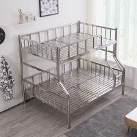 中伟不锈钢201双层床学生上下床宿舍床高低床铁床公寓床2000*1200