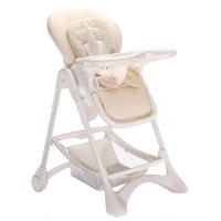 帛琦(Pouch)多功能儿童餐椅 婴儿餐椅 可坐可躺 K05-1米白色