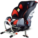 klippan TRIOFIX进口儿童安全座椅9个月-12岁汽车用宝宝安全座椅isofix硬接口 芬兰品牌 经典红