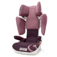 谐和(CONCORD) XT安全座椅 宝宝儿童汽车座椅一键液压调节 ISOFIX 3-12岁 3C认证 草莓冰粉 德国