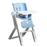宝贝第一(Babyfirst)Skido食趣多 宝宝餐椅多功能儿童餐椅适合约6个月-3岁(鸢尾蓝)