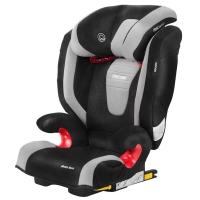 瑞凯威RECARO儿童汽车安全座椅ISOFIX硬接口德国原装进口莫扎特2代3-12岁银黑色