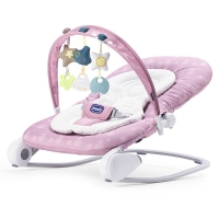 Chicco智高 宝宝躺椅新生儿摇篮安抚椅可折叠躺椅 智高星梦摇椅(粉紫)CHIC00079840490000