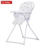 晨辉(CHBABY) 婴儿餐椅可折叠儿童餐椅免清洗便携宝宝餐椅轻便吃饭椅子 501 卡通