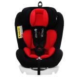 首席官(CHIEF OFFICER)梦想家 汽车儿童安全座椅0-12岁双向可躺isofix硬接口 经典红黑