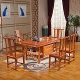 中伟实木茶桌功夫茶桌中式茶几桌泡茶台桌椅组合1480*750*720