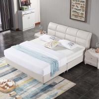 宜眠坊(ESF) 床 软床 皮床 现代北欧风格卧室 1.5米双人床 厂商直送 EC03