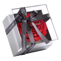 繁花集 LoveLetter情书系列水晶之恋永生花玫瑰礼盒 情人节生日表白礼物