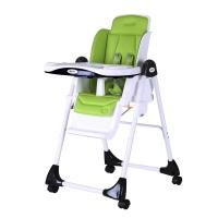 佳田(JUSTIN)豪华多功能折叠儿童餐椅H100 戈尔韦绿
