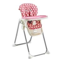 gb好孩子儿童餐椅 多功能可折叠便携婴儿餐椅可坐可躺宝宝餐椅(7个月-36个月)粉色Y9806-H002K