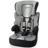 塞诺堡汽车安全座椅 9个月-12岁 宝宝儿童安全座椅汽车用 法国原装 清凉款精致黑(安全带固定)
