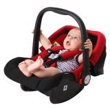 英国Zazababy婴儿安全提篮汽车安全座椅新生儿0-12个月 2050黑红