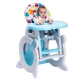 宝贝第一(Babyfirst) 宝贝第一Babyfirst儿童餐椅宝宝座椅婴儿餐桌椅折叠两用餐椅 糖果花(学习桌+餐椅)