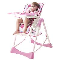 爱音(Aing)儿童餐椅 欧式多功能婴儿餐椅四合一宝宝餐椅可折叠便携C002(C002s) 蔷薇心语