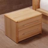 A家家具 床头柜 简约枫木卧室家具 床边储物柜 Y3A0202T