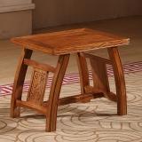 中伟实木茶桌椅马凳仿古中式榆木茶凳古筝凳仿古换鞋小矮凳