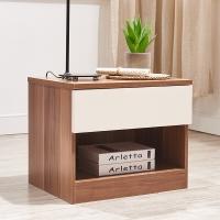 A家家具 床头柜 简约现代卧室家具 床边储物柜 A036