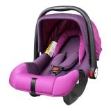 英国Zazababy婴儿安全提篮汽车安全座椅新生儿0-12个月 2050紫色