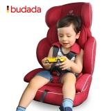 步达达(BUDADA)德国 宝宝汽车儿童安全座椅 雅骑士E600 高雅红 9-36kg约9个月-12岁