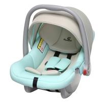 德国怡戈(Ekobebe) 婴儿提篮式儿童安全座椅EKO-007 适合0-15个月新生儿宝宝汽车便捷车载手提篮 米绿色