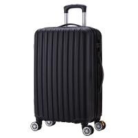 博兿(BOYI)万向轮拉杆箱24英寸男女士旅行箱轻盈行李箱 BY-72002黑色