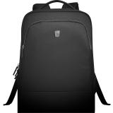 爱华仕(OIWAS)休闲双肩包商务笔记本电脑包15.6英寸双肩背包男书包旅行包 4203黑色