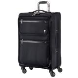瑞動(SWISSMOBILITY)拉桿箱26英寸商務時尚差旅行李箱 防潑水靜音萬向輪旅行箱男女 5513黑色