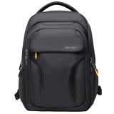 新秀丽双肩背包男休闲书包电脑包15.6英寸 Samsonite尼龙防泼水63Z 黑色