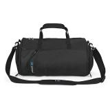 IX 旅行包 健身包商务出差包单肩休闲手提包干湿分离 8036黑色大款