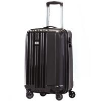 瑞世(SUISSEWIN)拉杆箱 商务登机箱 经典简约行李箱 静音万向轮旅行箱 SN8810 20英寸 黑色