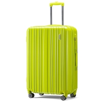 美旅AmericanTourister拉杆箱 男女商务静音飞机轮行李箱大容量可扩展 24英寸TSA海关锁旅行箱79B绿色
