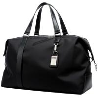 博牌旅行袋 手提旅行包男女 休闲行李袋短途旅游包大容量黑色32-01731