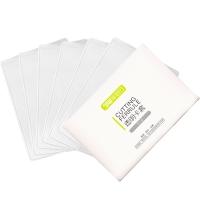 伴侣行 银行卡套透明身份证保护套磨砂证件套男女通用公交卡塑料套一套6个 BL1034(2件起售)