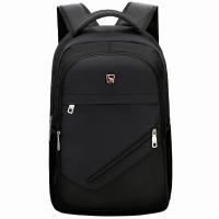 爱华仕(OIWAS)双肩包 休闲商务背包笔记本电脑包14英寸男书包 4082黑色