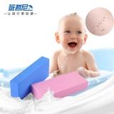 班哲尼 搓澡神器 搓澡海绵 搓泥浴宝婴儿成人宝宝搓灰搓澡巾搓背搓泥海绵儿童洗澡神器 2个装 颜色随机