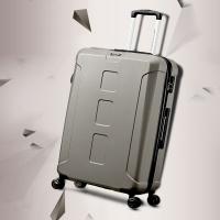 美旅AmericanTourister拉杆箱 男女商务大容量行李箱耐磨静音飞机轮 26英寸密码锁旅行箱BX0棕色