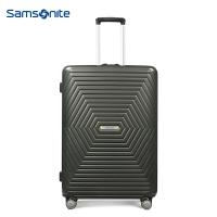 新秀丽(Samsonite) Astra都市时尚休闲拉杆箱 万向飞机轮旅行箱行李箱可扩展 25英寸 黑色DY2*78002