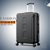 美旅AmericanTourister拉杆箱 男女商务大容量行李箱耐磨静音飞机轮 26英寸密码锁旅行箱BX0黑色