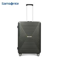 新秀丽(Samsonite) Astra都市时尚休闲拉杆箱 万向飞机轮旅行箱行李箱可登机 20英寸 黑色DY2*78001